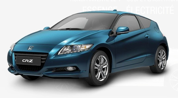 honda cr z hybrid alternatives ecologiques. Black Bedroom Furniture Sets. Home Design Ideas